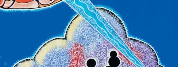 Astro Boy Blue Joel Nakamura Background